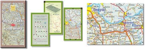 auto mapa grcke na srpskom EvroGeomatika auto mapa grcke na srpskom